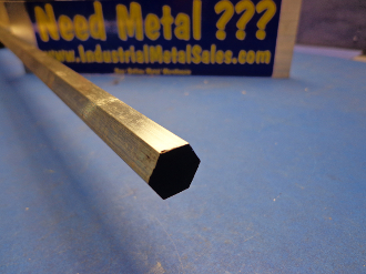 "12MM x 60""-Long 6061 T6511 Aluminum Hex Bar $25.02"