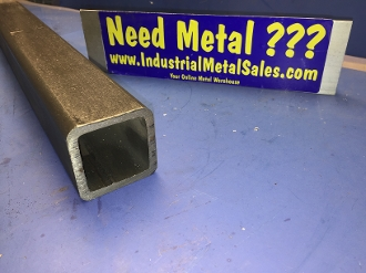"2/""X 2/""X .250/"" Wall Steel Square Tube 36/"" Piece"